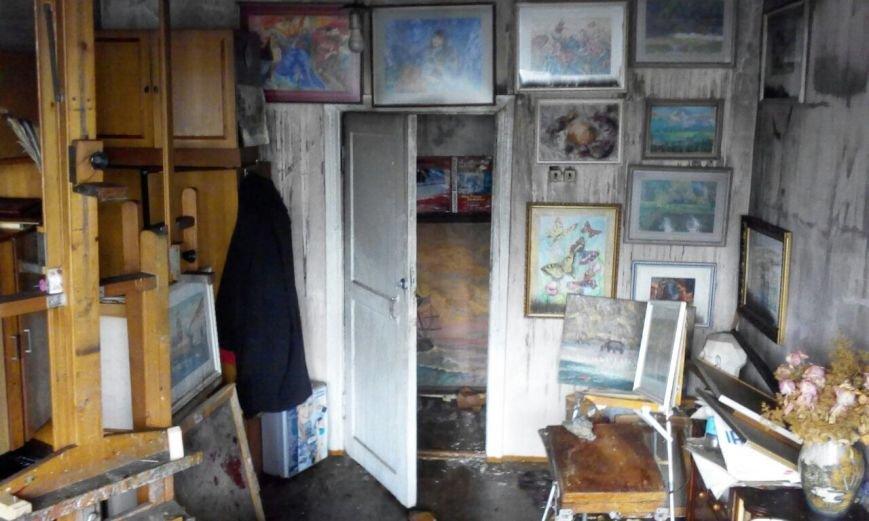 В Петропавловске сгорели две мастерские «Дома Художников», фото-5