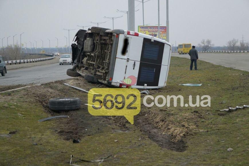 В Каменском на мостовом переходе произошло ДТП, фото-5