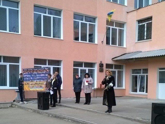 В Бахмуте почтили память Героя Украины, фото-1