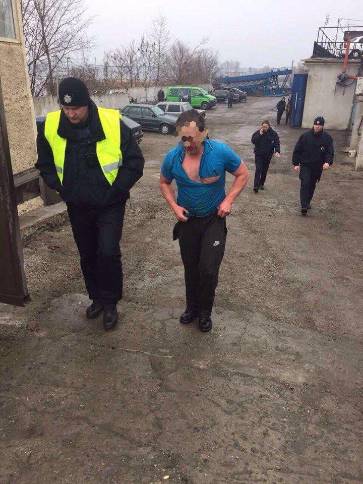 Поймай меня, если сможешь: в Днепре мужчина убегал от полиции (ФОТО), фото-1