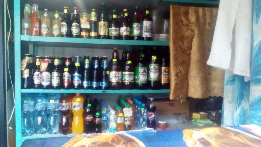 В Каменском в киоске «Смачний хліб» изъяли нелегальный алкоголь, фото-3