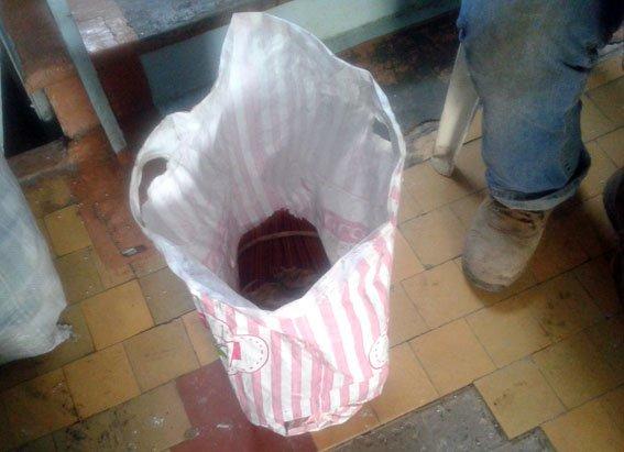 Житель Днепропетровской области пытался провезти в автобусе из Бахмута почти 2 кг пороха, фото-1