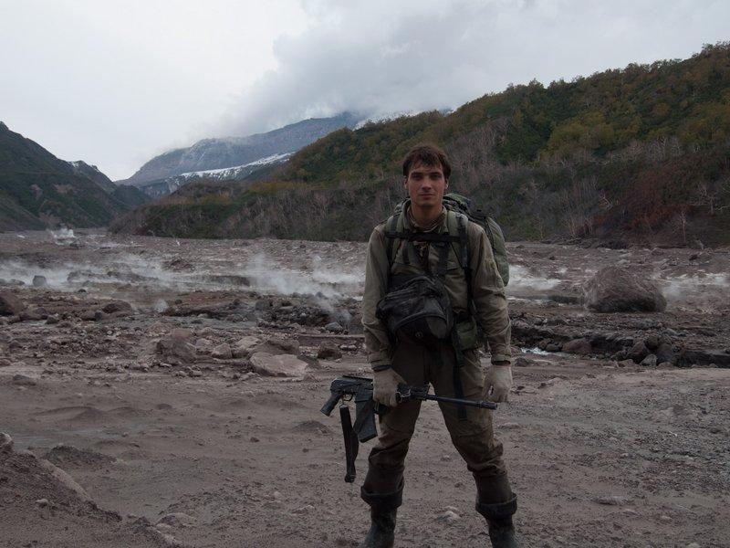 Петр Шпиленок в оперативном рейде в Кроноцком заповеднике_hf