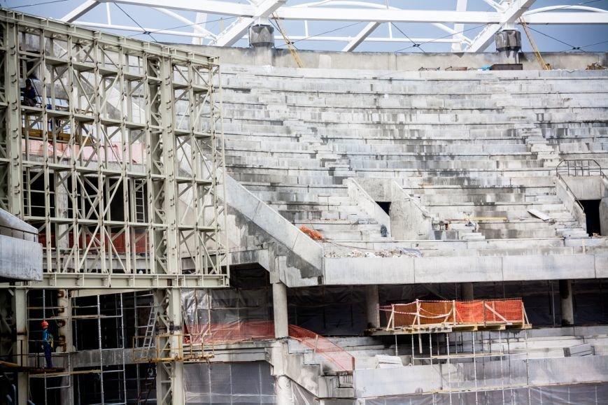 """""""Ростов-Арена"""" на Лебердоне: меньше года до окончания строительства, фото-11"""