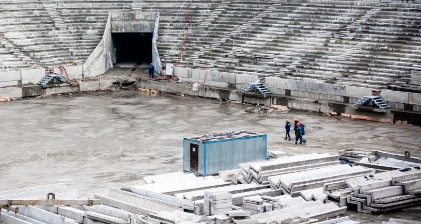 """""""Ростов-Арена"""" на Лебердоне: меньше года до окончания строительства, фото-13"""