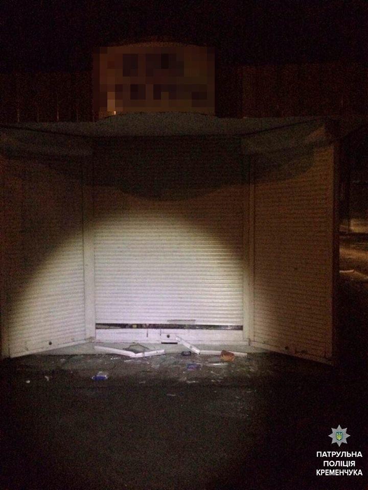 В Кременчуге воры попались на глаза полиции когда тащили по улице мешок с наворовынным (ФОТО), фото-1