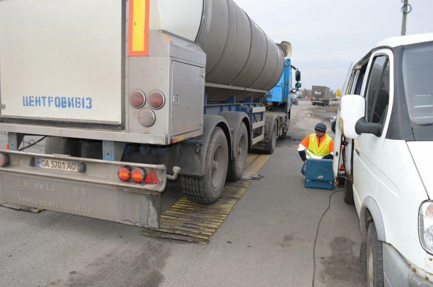На дорогах Полтавщины производится весовой контроль. Если ваш грузовик слишком тяжёлый, штраф придётся платить в евро (ФОТО), фото-1