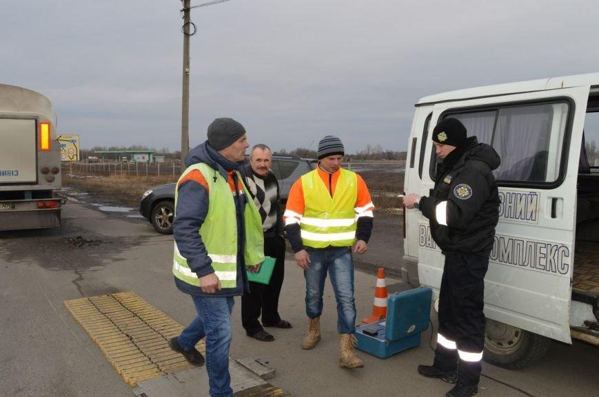 На дорогах Полтавщины производится весовой контроль. Если ваш грузовик слишком тяжёлый, штраф придётся платить в евро (ФОТО), фото-3