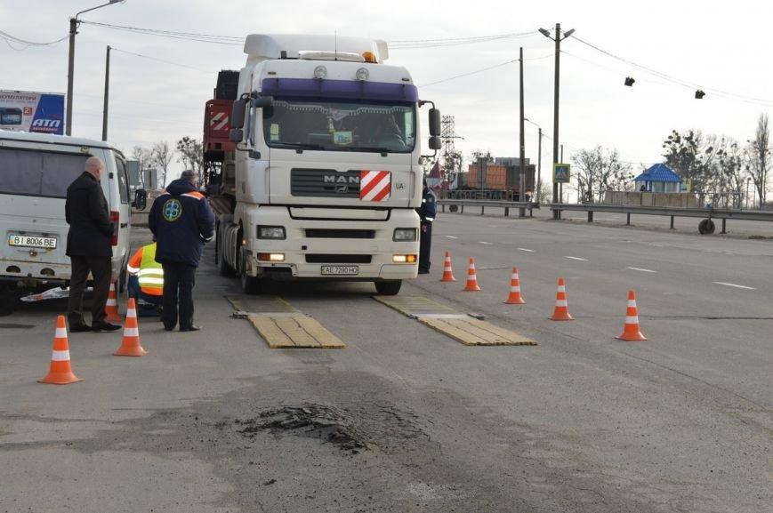 На дорогах Полтавщины производится весовой контроль. Если ваш грузовик слишком тяжёлый, штраф придётся платить в евро (ФОТО), фото-4