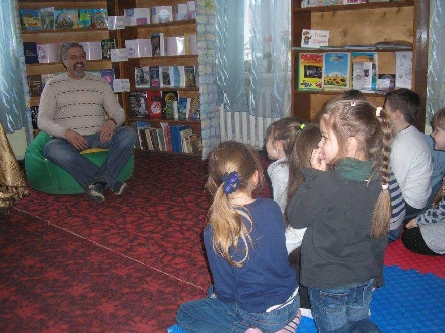 Відомий письменник провів для кам'янецьких дітей захід «Книжкова галактика Сергія Пантюка», фото-1