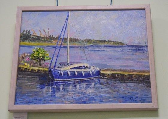 В Черноморске открылась новая художественная галерея (фото), фото-8