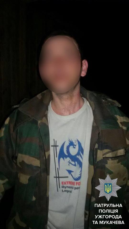 У Мукачеві дебошир через ревнощі побив чоловіка: фото, фото-1