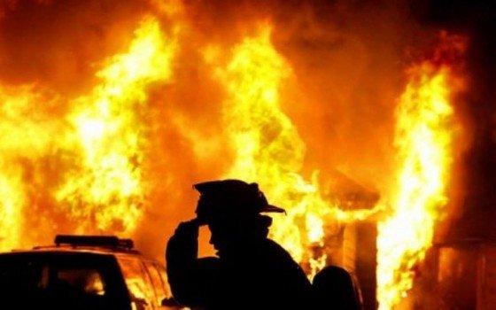 На Хустщині під час пожежі згоріла жінка, фото-1