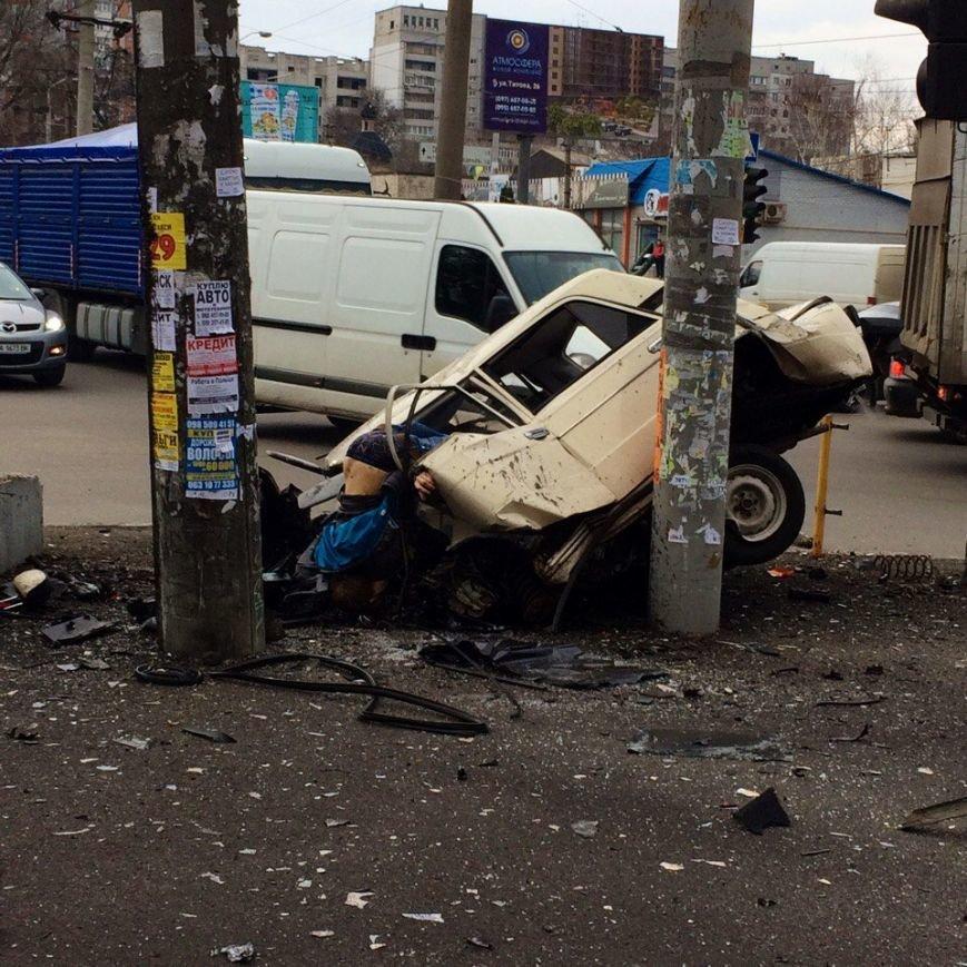 СЕЙЧАС! Внизу ул. Рабочей в Днепре - ужасное ДТП (ФОТО), фото-1