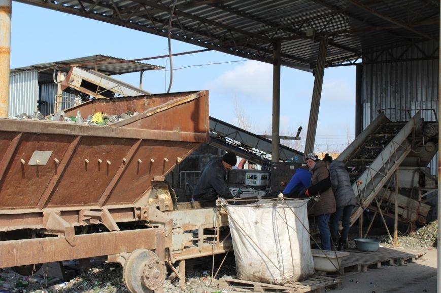 Выбрасывай правильно: экскурсия на запорожский завод по сортировке мусора, – ФОТОРЕПОРТАЖ, фото-18