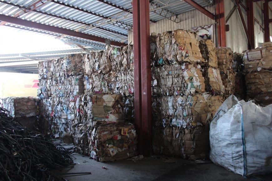 Выбрасывай правильно: экскурсия на запорожский завод по сортировке мусора, – ФОТОРЕПОРТАЖ, фото-1
