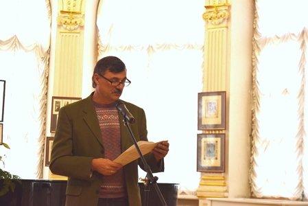 Поэты Черноморска выступили в «Золотом зале» Литературного музея Одессы (фото), фото-3