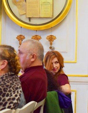 Поэты Черноморска выступили в «Золотом зале» Литературного музея Одессы (фото), фото-8