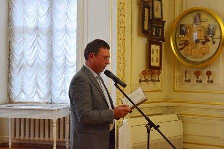 Поэты Черноморска выступили в «Золотом зале» Литературного музея Одессы (фото), фото-10
