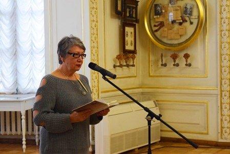 Поэты Черноморска выступили в «Золотом зале» Литературного музея Одессы (фото), фото-5