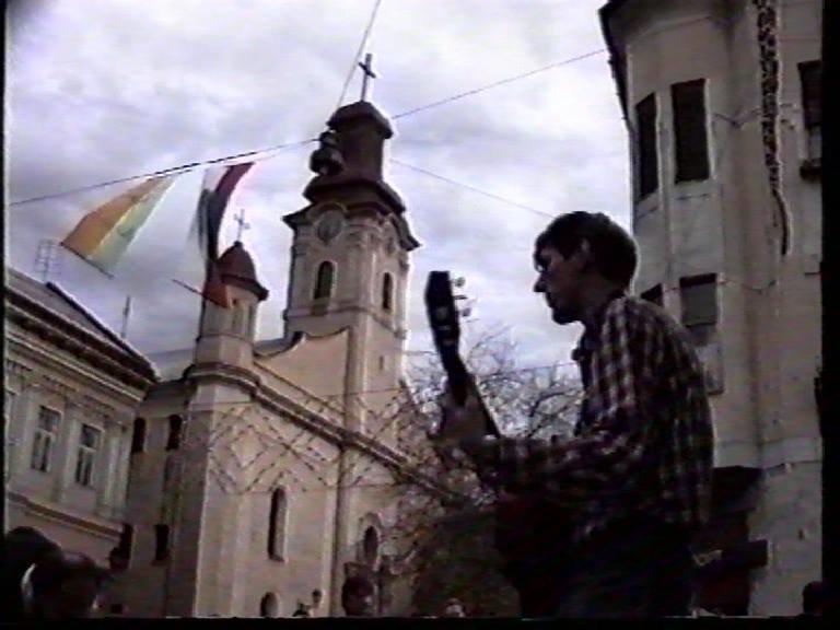 Ужгородець поділився світлинами першого святкування Дня міста за незалежної України, фото-3