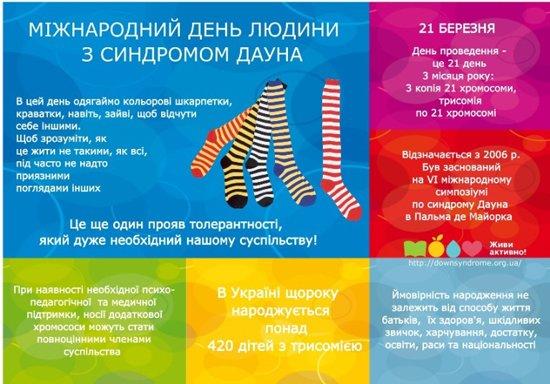 Надень сегодня разные носки – поддержи «солнечных» детей, фото-1