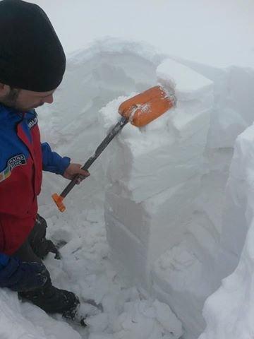 На горі Піп Іван випало 3 метри снігу: фото, фото-1