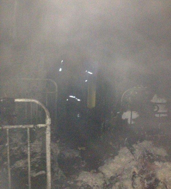 На Херсонщині через замикання електромережі сталась пожежа (фото), фото-1