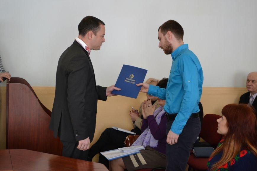 В Каменском наградили горожан, фото-14