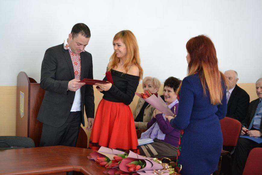 В Каменском наградили горожан, фото-6