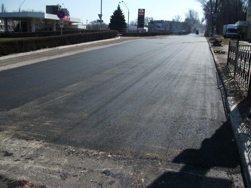 Из-за ремонта дороги на проспекте Аношкина перекрыто движение, фото-3