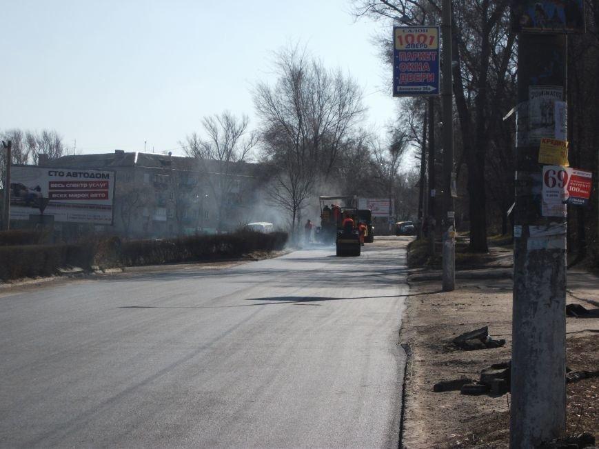 Из-за ремонта дороги на проспекте Аношкина перекрыто движение, фото-5