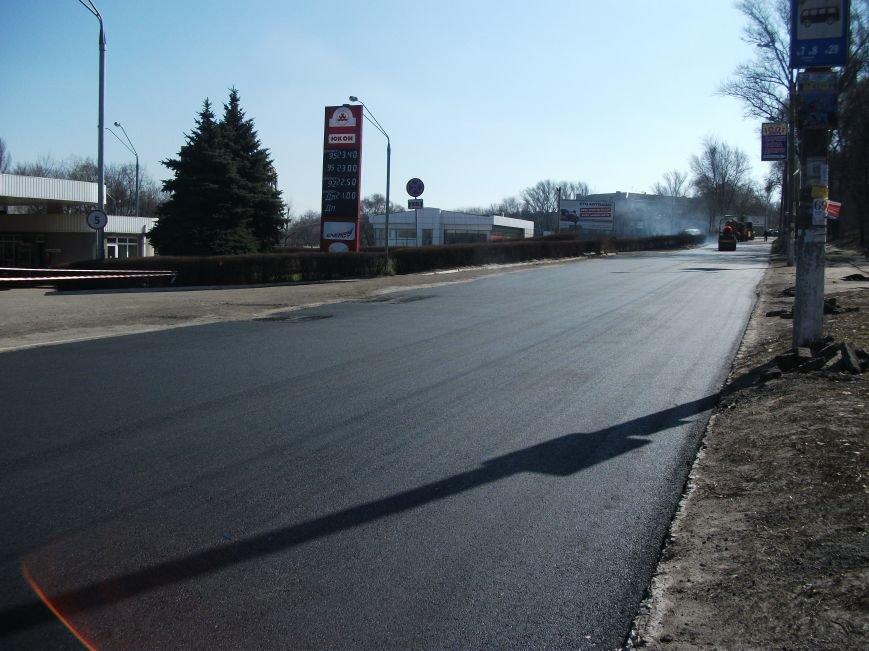 Из-за ремонта дороги на проспекте Аношкина перекрыто движение, фото-6