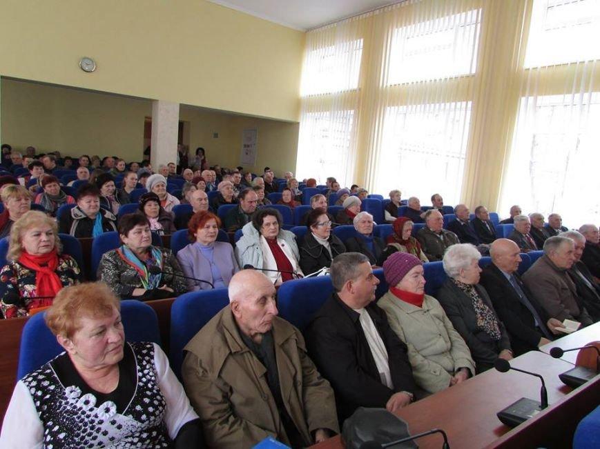 У Новограді-Волинському відбувся ювілейний пленум міської організації ветеранів, присвяченого 30-річчю з дня її створення, фото-1