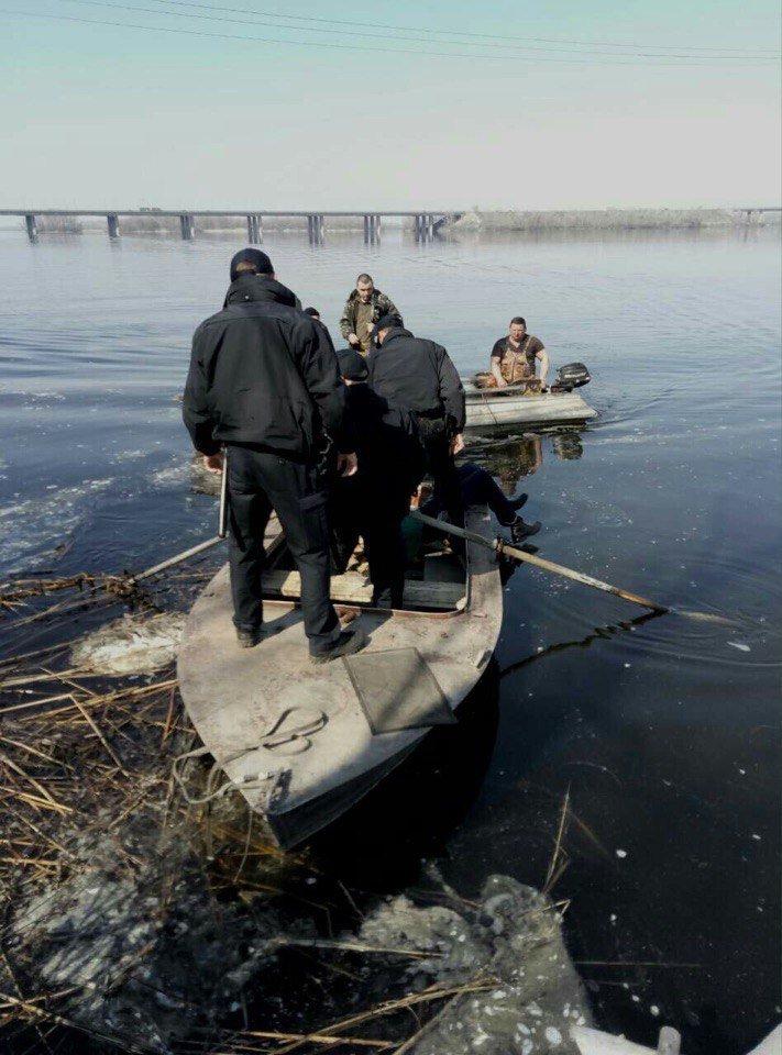 В Днепре мужчина прыгнул с Кайдакского моста (ФОТО), фото-1