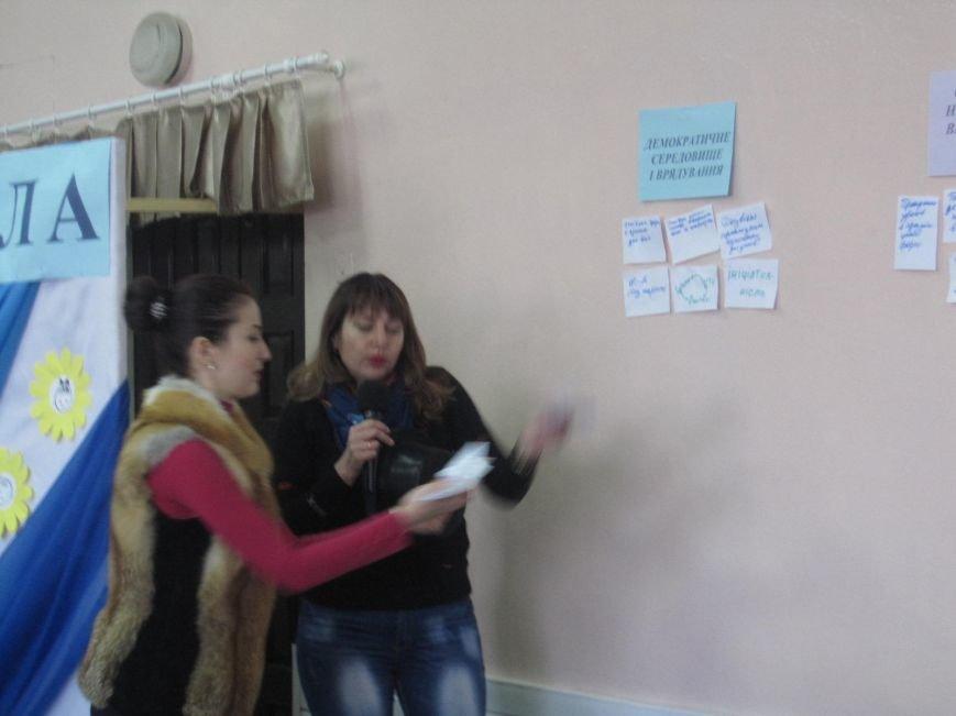 В конотопській гімназії опановували три виміри демократичної школи, фото-2