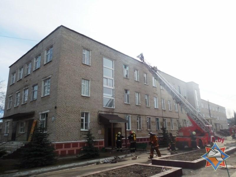 Пожар в психиатрической больнице Полоцка оказался учениями МЧС. ФОТО, фото-4