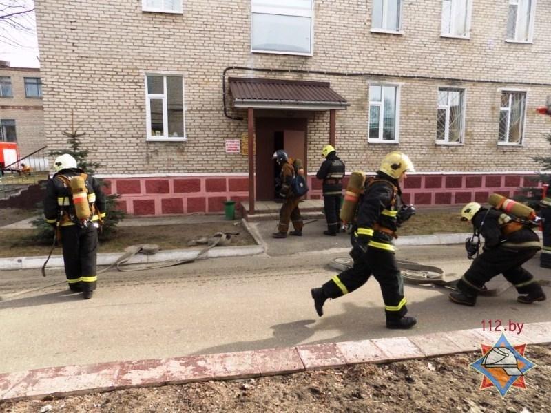 Пожар в психиатрической больнице Полоцка оказался учениями МЧС. ФОТО, фото-3