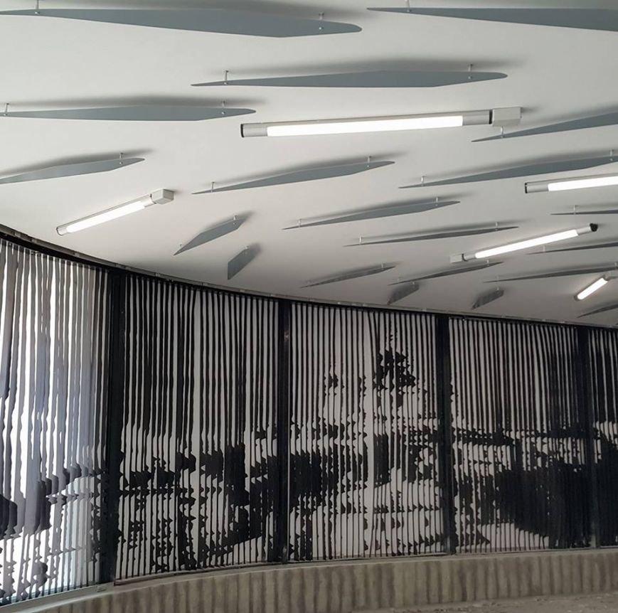 """В Киеве закончили ремонт вестибюля """"Левобережки"""" (ФОТО), фото-1"""