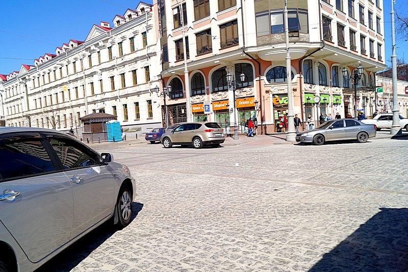 Одесситы превратили отремонтированную площадь в парковку (ВИДЕО, ФОТО), фото-4