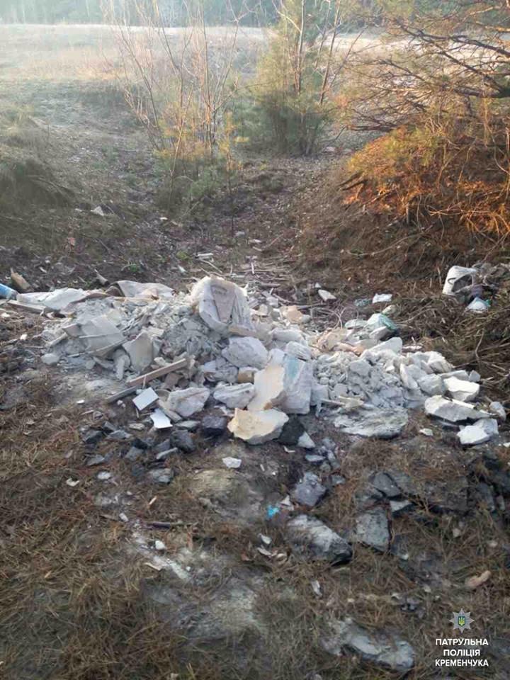 В Кременчуге водитель Ланоса выгрузил мусор прямо на улице (ФОТО), фото-2