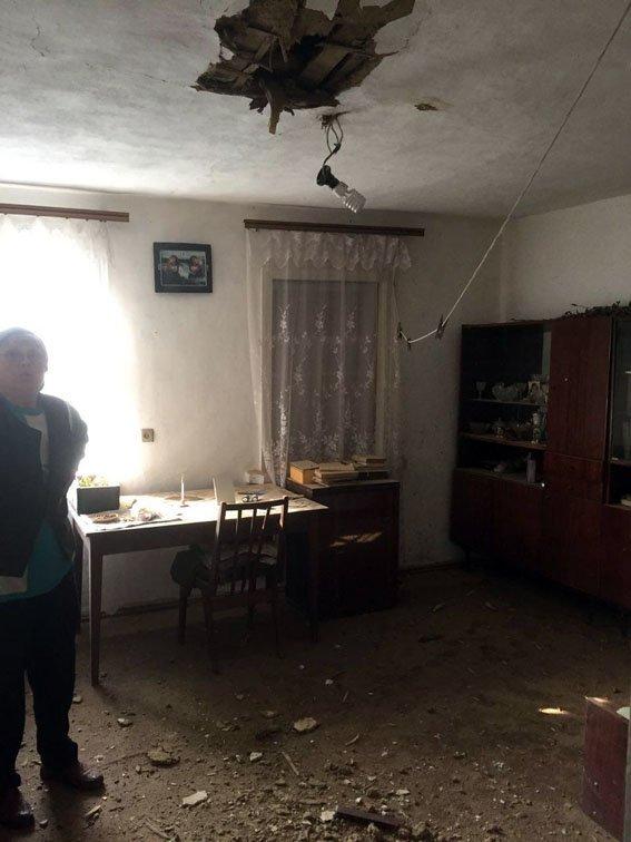 Авдеевка повреждения дома 24.03.17 1