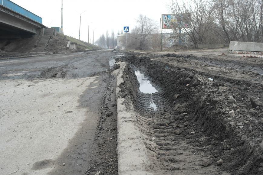 Берегите авто: водители шокированы «убитыми» дорогами под «Димитровским» мостом (ФОТО, ВИДЕО), фото-8