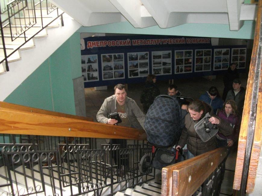 В Каменском работники ДМК требуют у руководства выплатить им всю зарплату, фото-6