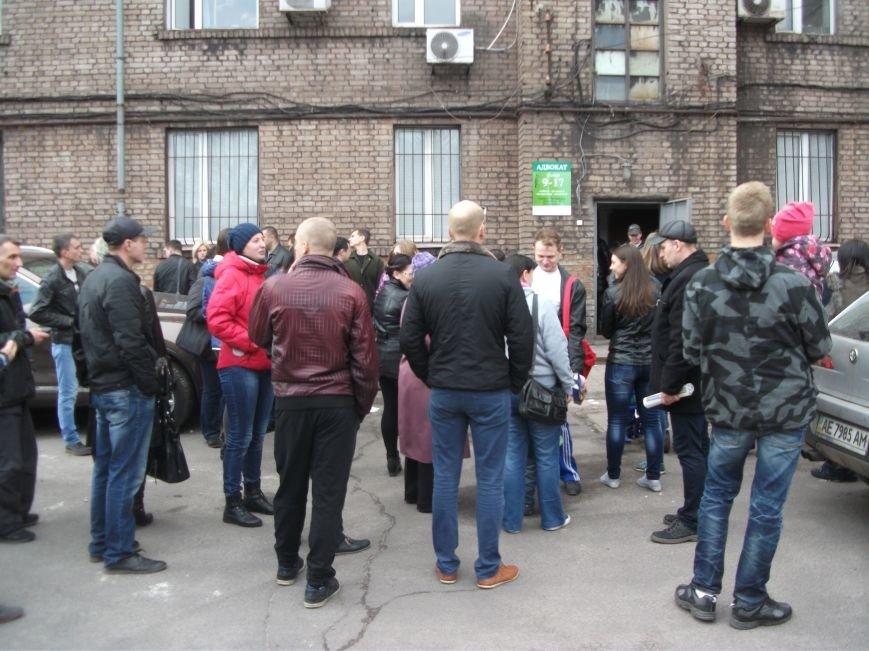 В Каменском работники ДМК требуют у руководства выплатить им всю зарплату, фото-4