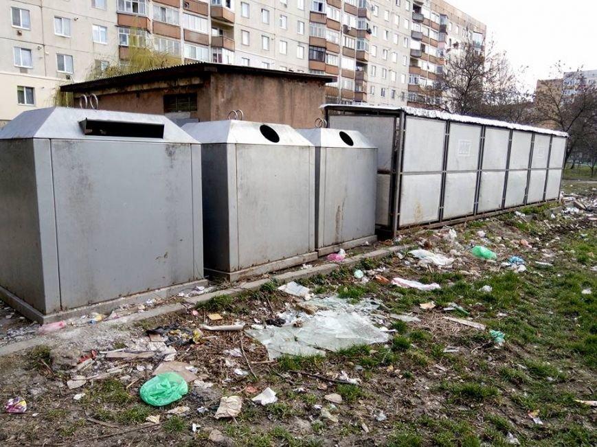 На вулиці Годинки ужгородці викидають сміття поза сміттєві баки: фото, фото-3