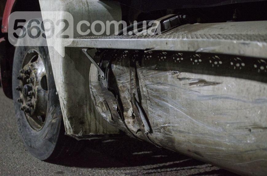 """ДТП на мосту в Каменском: """"Опель"""" столкнулся с фурой, фото-4"""