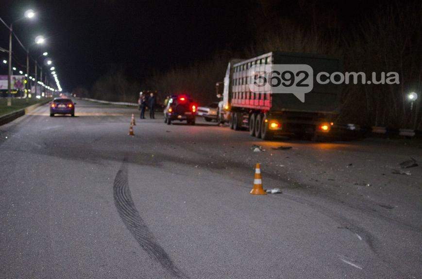 """ДТП на мосту в Каменском: """"Опель"""" столкнулся с фурой, фото-7"""
