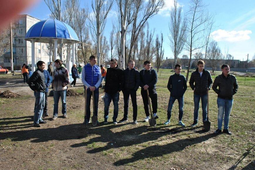 Павлоградцы наводят порядок на улицах и в парках, фото-3