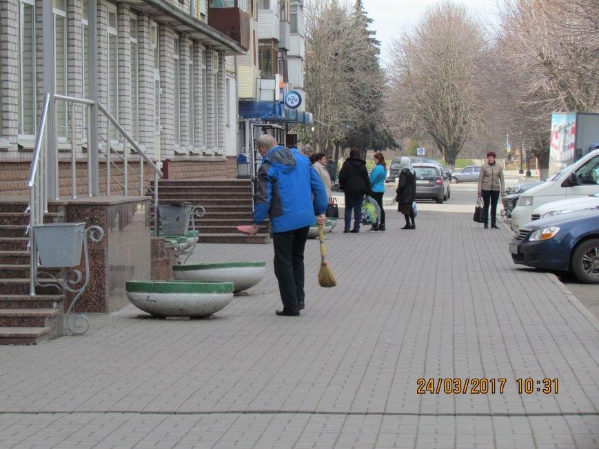 Павлоградцы наводят порядок на улицах и в парках, фото-4